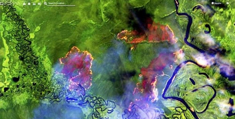Sibirya, yangın, Rusya, yapay yağmur bulutları