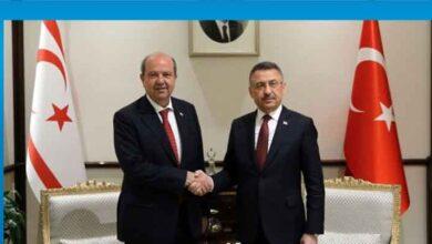 Photo of Başbakan Tatar, Türkiye Cumhurbaşkanı Yardımcısı Oktay ile telefonda görüştü
