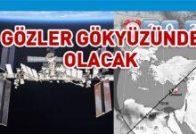 Photo of Uluslararası Uzay İstasyonu Kıbrıs'tan görülebilecek