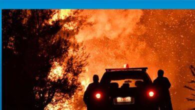 Photo of Yunanistan'da 3 gündür orman yangınları devam ediyor