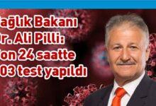 Photo of Bakan Pilli: 1 yeni vaka