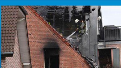 Photo of Almanya'da apartmanın üstüne uçak düştü: 3 ölü