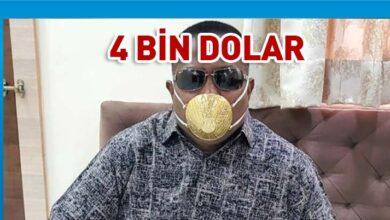 Photo of Hindistanlı iş adamı corona virüse karşı altın maske takıyor