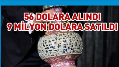 Photo of 56 dolara alınan antika vazo 9 milyon dolara satıldı