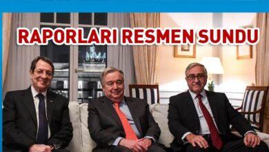 Photo of Guterres raporlarını resmen sundu