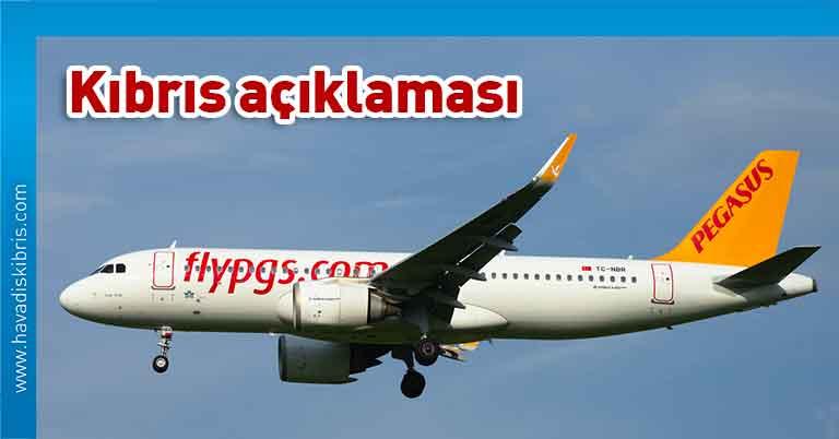 Pegasus Hava Yolları, Kıbrıs, Kuzey Kıbrıs Türk Cumhuriyeti, Türkiye, PCR