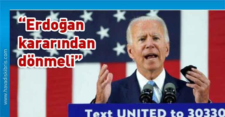 Joe Biden, Türkiye Cumhurbaşkanı Recep Tayyip Erdoğan, Donald Trump, Ayasofya