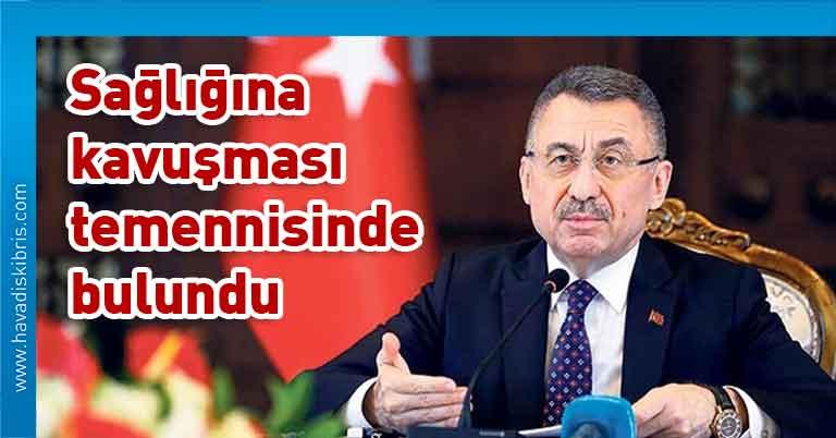 Türkiye Cumhurbaşkanı Yardımcısı Fuat Oktay, 3'üncü Cumhurbaşkanı Derviş Eroğlu, Türkiye Cumhurbaşkanı Recep Tayyip Erdoğan, Anjiyo