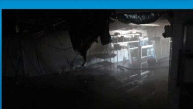 Photo of Cratos Otel'in deposunda korkutan yangın