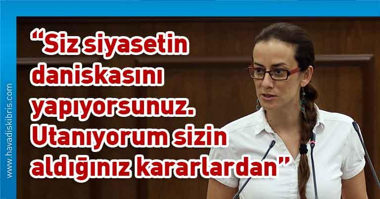 CTP Milletvekili Doğuş Derya, Cumhuriyet Meclisi, Başbakan Ersin Tatar