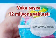 Photo of 546 bin kişi Covid-19 nedeniyle hayatını kaybetti