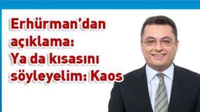 Photo of Erhürman: Kriz yönetimi değil olsa olsa yönetim krizi