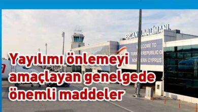 Photo of Ercan Havalimanı'nda uygulanacak pandemi tedbirleri genelgesini yayımladı