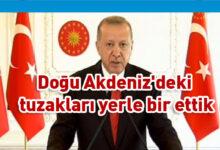 Photo of TC Cumhurbaşkanı Erdoğan'dan 'Doğu Akdeniz' mesajı