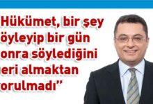 Photo of Erhürman: Dönüp dolaşıp aynı yere geliyoruz