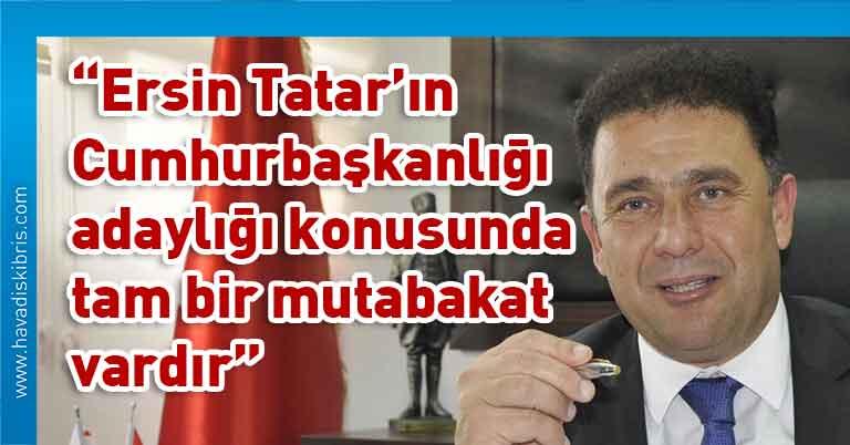 Ersan Saner, Başbakan Ersin Tatar, Cumhurbaşkanlığı adaylığı, UBP Merkez Yönetim Kurulu, pandemi süreci, UBP