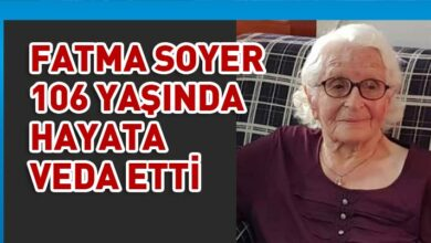 Photo of Fatma Soyer hayatını kaybetti