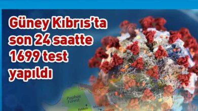 Photo of Güney Kıbrıs'ta 3 yeni vaka!
