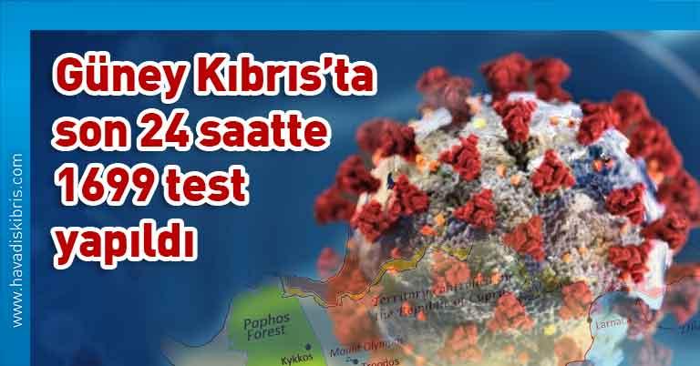 Güney Kıbrıs, Kıbrıs Rum Sağlık Bakanlığı, covid 19, vaka, test, Kıbrıs Rum Yönetimi