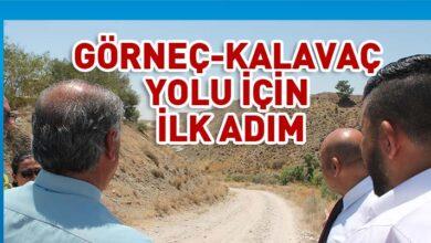 Photo of Görneç ile Kalavaç arasındaki yol için ilk adım atıldı