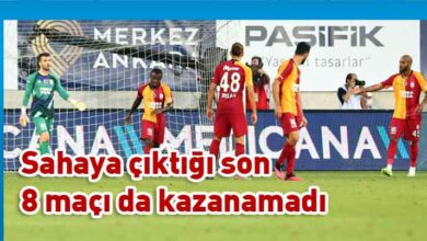 Photo of Galatasaray'da kötü seri devam ediyor