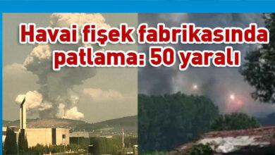 Photo of Sakarya Hendek'te havai fişek fabrikasında patlama: 50 yaralı
