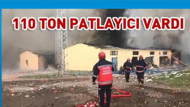 Photo of Havai fişek fabrikasında patlama: 2 ölü 74 yaralı