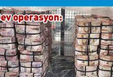 Photo of 54 milyon sterlin ve 2 ton uyuşturucu ele geçirildi