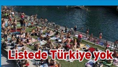 Photo of İsviçre'den 29 ülkeye seyahat kısıtlaması