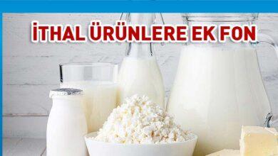 Photo of Oğuz: İthal süt ürünlerine ek fon koyduk