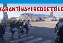 Photo of 20 yolcu geldikleri uçakla geri döndü
