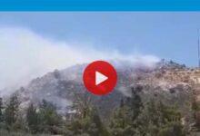 Photo of Lefke'de İrya tepesinde yangın