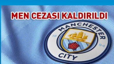 Photo of Man City'nin men cezası kaldırıldı