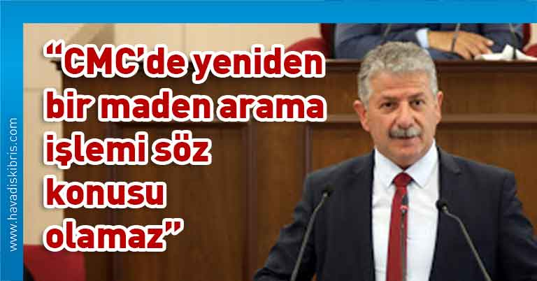 UBP Milletvekili Menteş Gündüz, Çevre (Değişiklik) Yasa Önerisi, CMC, Cumhuriyet Meclisi, Genel Kurulu