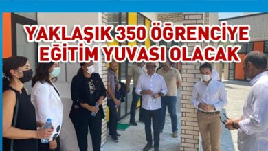 Photo of Girne'ye yeni okul: Mustafa Çağatay ilkokulu