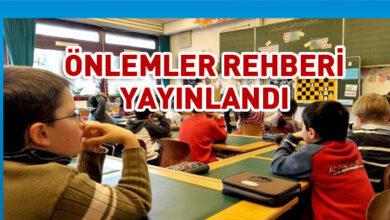 Photo of Okullarda alınacak Covid-19 önlemlerine ilişkin rehber yayınlandı