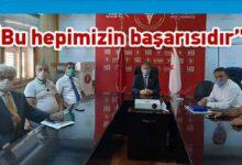 Photo of Akdeniz Girişimciler Derneği'nden Sağlık Bakanı Ali Pilli'ye plaket