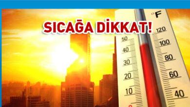 Photo of Hava sıcaklığı 41 derece olacak