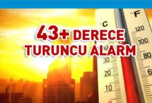 Photo of Hava sıcaklığının 43+ olması bekleniyor