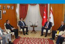 Photo of Başbakan Ersin Tatar, Kıbrıs Türk Ticaret Odası'nı kabul etti