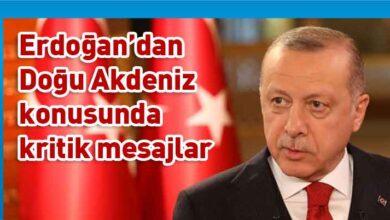 Photo of Erdoğan: Deniz yetki alanlarındaki hak ve çıkarlarımızı kararlılıkla savunuyoruz