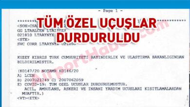 Photo of Ercan'a tüm özel uçuşlar durduruldu