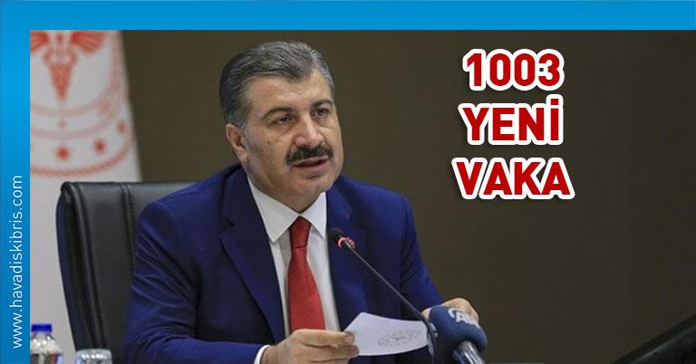 Türkiye vaka sayısı