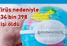 Photo of Dünya genelinde Kovid-19 tespit edilen kişi sayısı 11 milyonu aştı