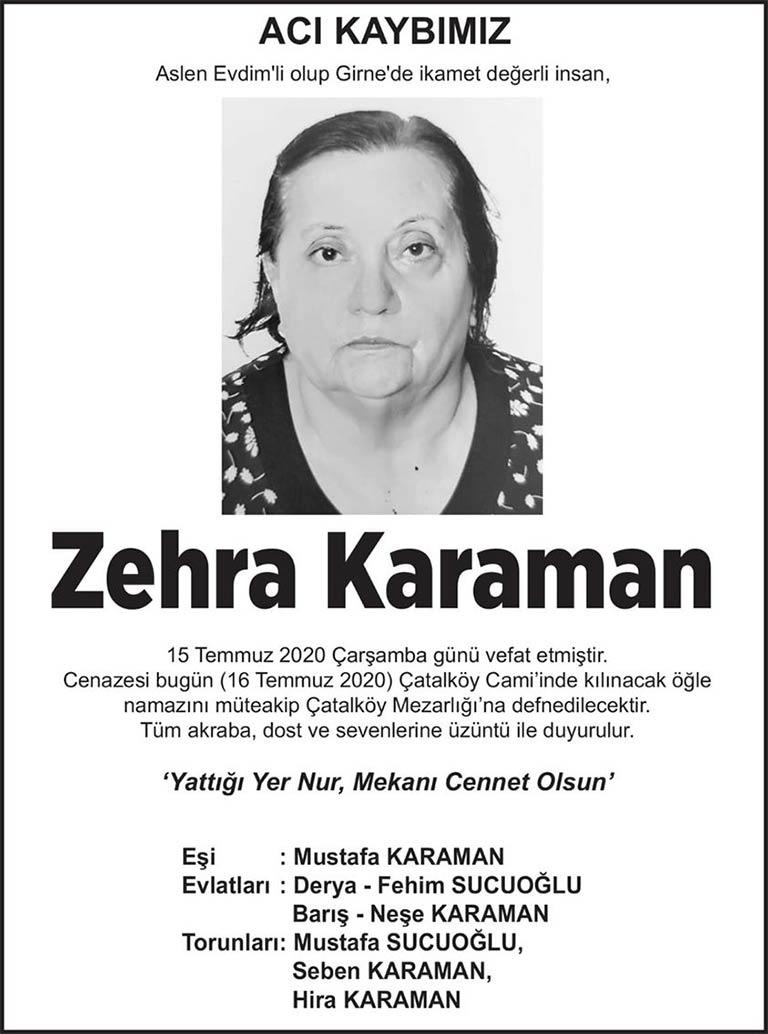 Zehra Karaman