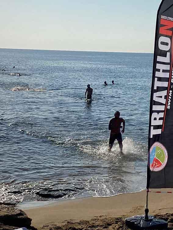 Aquatlon Yarışması, Triatlon Federasyonu, Yeniboğaziçi Bedis Plajı, Ares Spor Kulübü, Aspava Spor Kulübü, Tüfekçi Spor Kulübü, Mert Türsoy