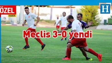 Photo of KKTC Meclisi futbol takımı, Lefke Masterlerini 3-0 mağlup etti