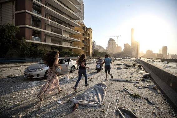 Beyrut, Lübnan, patlama, Mervan Abbud, Hiroşima, Nagazaki,