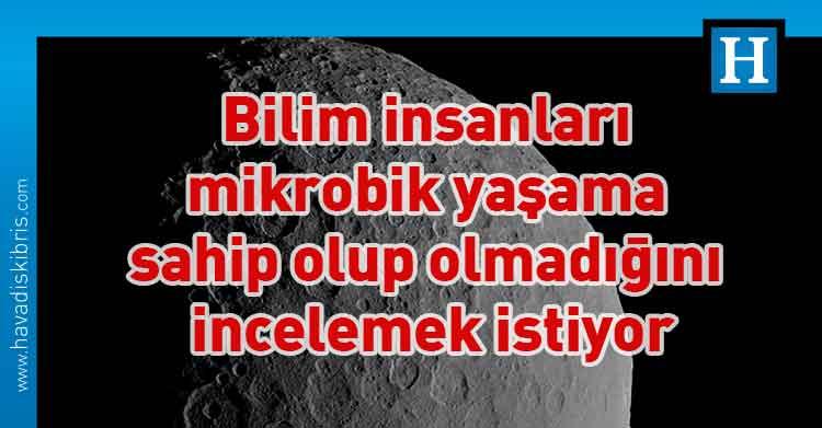 Ceres, Bilim insanları, büyük bir tuzlu su rezervi, kriyovolkanizme, Gezegen bilimciCarol Raymond,