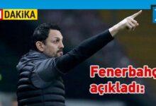 Photo of Fenerbahçe'nin yeni teknik direktörü belli oldu